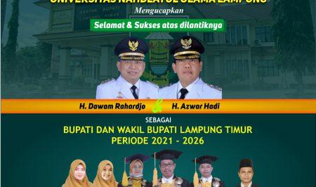 Pelantikan BUPATI Lampung Timur