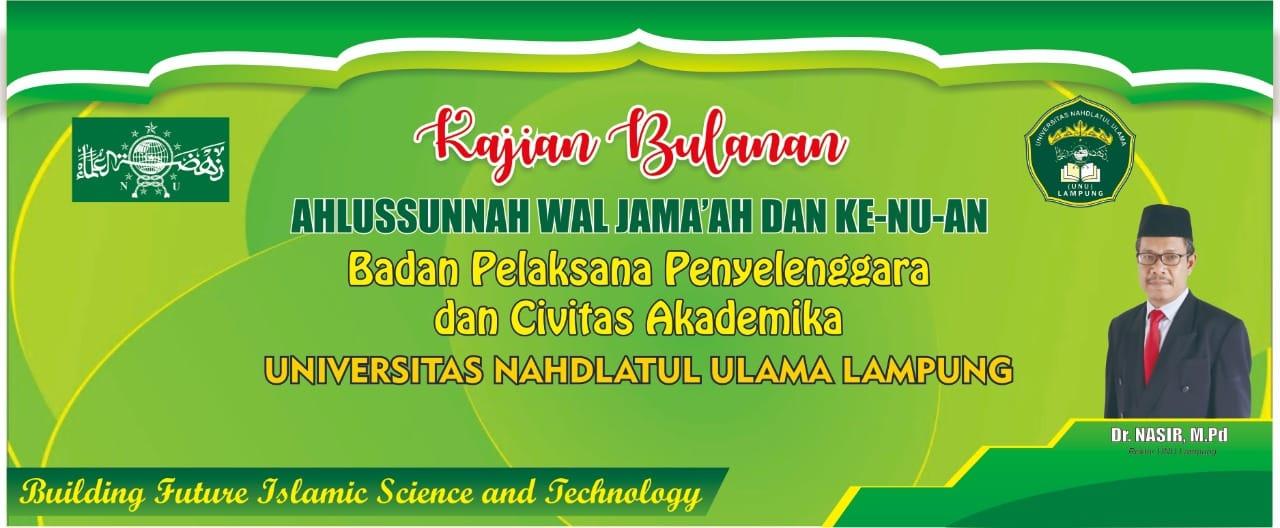 Lembaga Pengembangan dan Pemberdayaan Kegiatan Keagamaan dan Kebangsaan (LP2KK) UNU Lampung