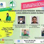 Undangan Seminar Nasional PW. Pergunu Lampung
